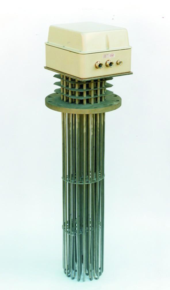 Grupos calentadores con brida gama para calentamiento de - Calentadores de aceite ...